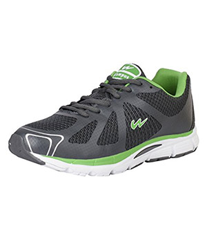 Campus 3G-444 Lion Drak Grey Green Mens Sport Shoe