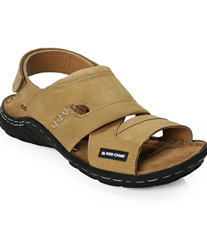 Red Chief RC-0385 Camel Mens Casual Sandal