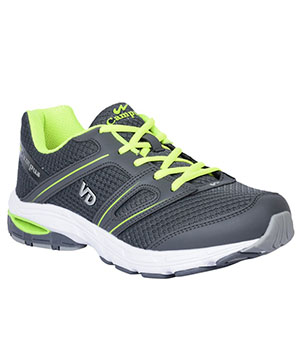 Campus 3G-379 Veedee Grey Green Mens Sport Shoe