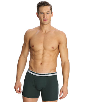 Jockey Modern Olive Green Classic Boxer Brief 8009 Set Of 2