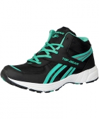 Columbus Top Gear Mens Sports Shoe TP-4 Green Black