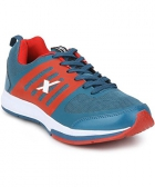 Sparx Blue Red Mens Sports Shoe SM-256