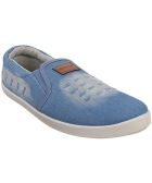 Sparx SM-278 Blue-White Mens Casual Shoes
