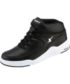 Sparx Mens Black Canvas Shoes SM-285