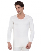 Jockey Off White Thermal Long Sleeve Vest