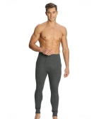 Jockey Charcoal Melange Thermal Long John