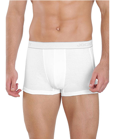 Jockey Mens 1015 White Boxer Brief