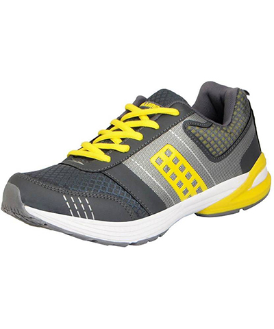 Columbus Top Gear Mens Sports Shoe TP-9 Grey