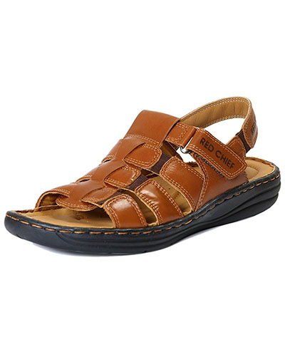 Red Chief RC1081 Tan Casual Sandal