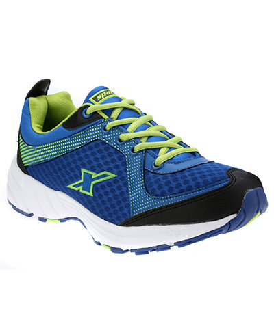 Sparx Blue Green Mens Sports Shoe SM-213