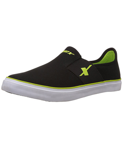 Sparx Black Green Mens Casual Shoe SM-214