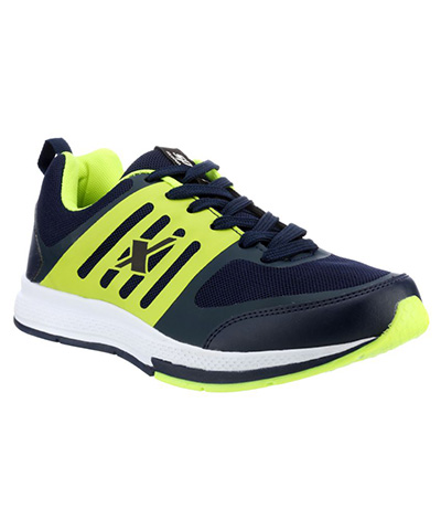 Sparx Blue Green Mens Sports Shoe SM-256