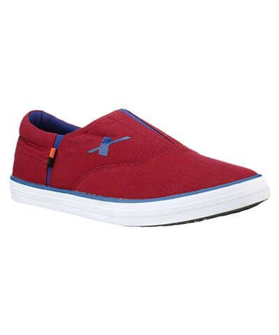 Sparx SM-255 Cherry Mens Casual Shoes