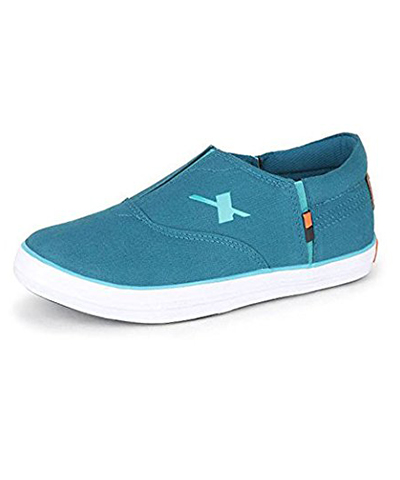 Sparx SM-255 Teal-Blue Mens Casual Shoes