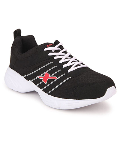 Sparx SM-271 Black-White Mens Sports Shoes