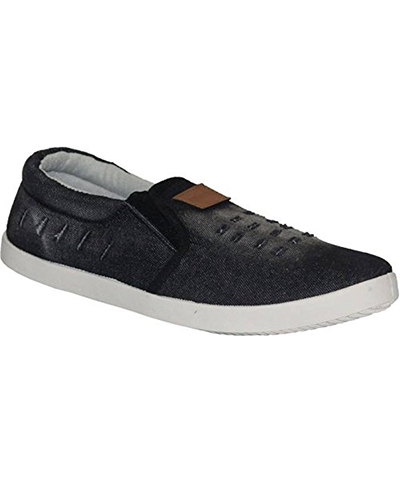 Sparx SM-278 Black-White Mens Casual Shoes