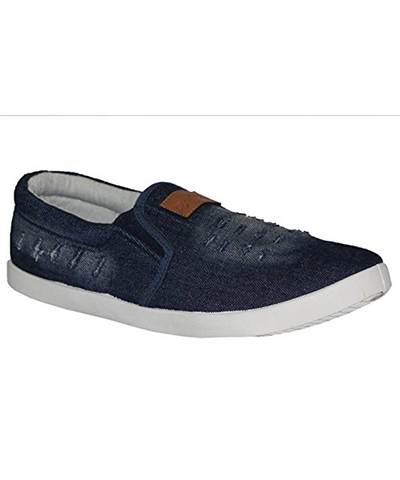 Sparx SM-278 Navy-White Mens Casual Shoes