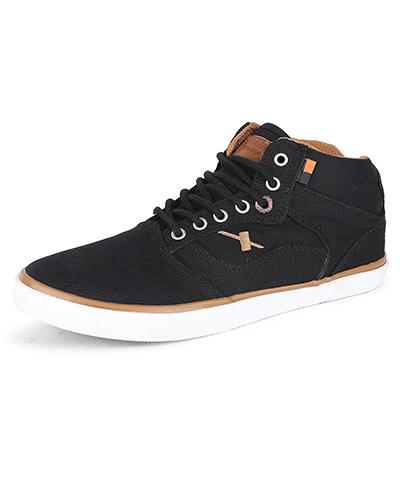 Sparx SM-282 Black-Tan Mens Casual Shoes