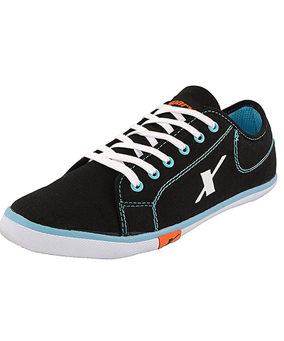 Sparx SM-283 Black-Mint Mens Casual Shoes
