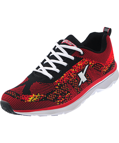 Sparx Mens Red Sports Shoes SM-223