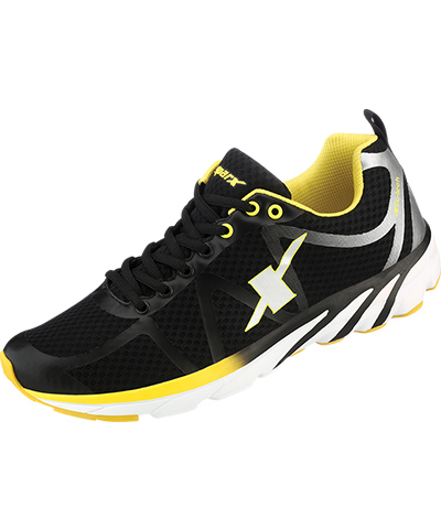 Sparx Mens Black Sports Shoes SM-263