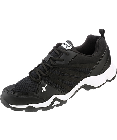 Sparx Mens Black Sports Shoes SM-284