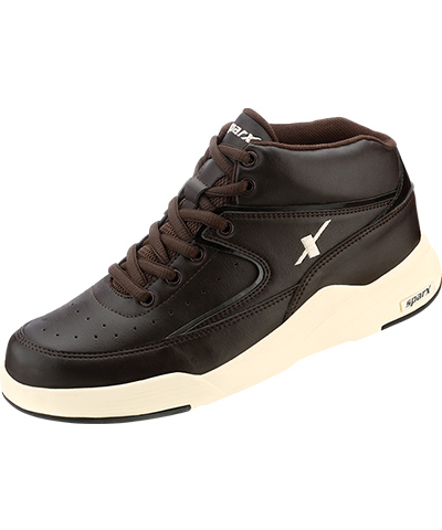 Sparx Mens Brown Canvas Shoes SM-285