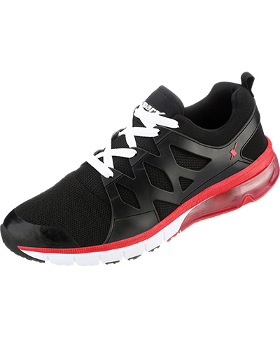 Sparx Mens Black Sports Shoes SM-288