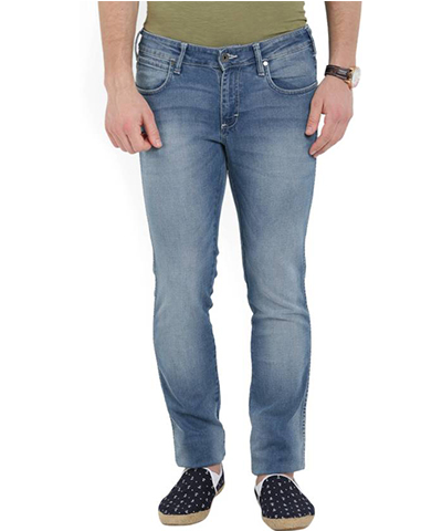 Devil Mens Casual Denim Jeans DMJ-07