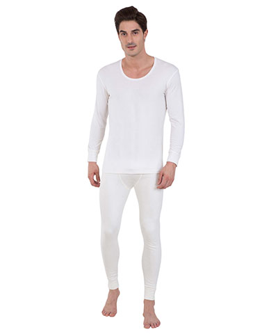 Jockey Off White Thermal Long John