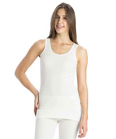 Jockey Off White Thermal Camisole