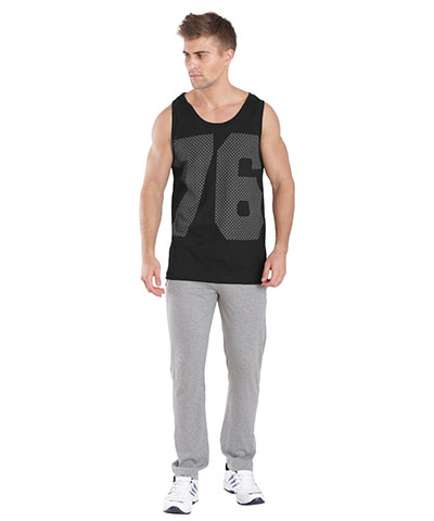 Jockey Tank Top Black