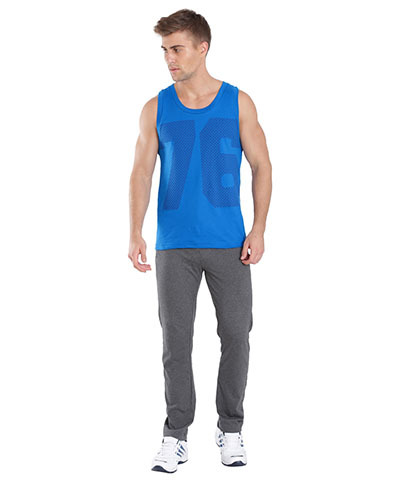 Jockey Tank Top Neon Blue