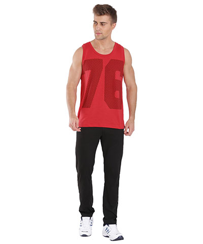 Jockey Tank Top Team Red