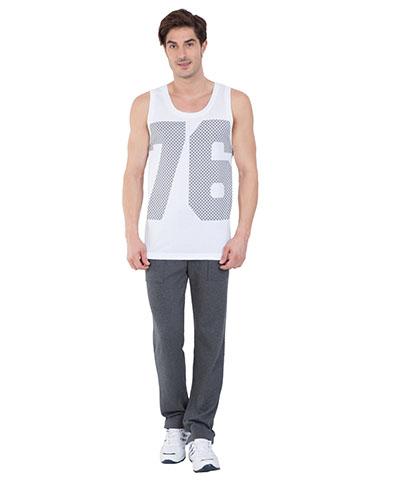 Jockey Tank Top White