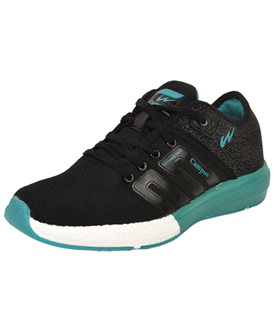 Campus Mens Sports Shoes Battel 3G-478  Black Tblue