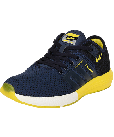 Campus Mens Sports Shoes Battel 3G-478  Navy-Yellow