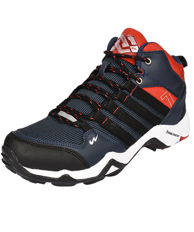 Campus Mens Sports Shoe Trek 3G-471 Navy-Rust