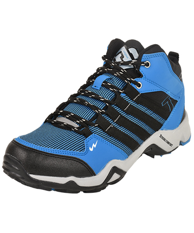Campus Mens Sports Shoe Trek 3G-471 Sky-Black