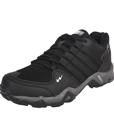Campus Mens Sports Shoe Triggeer 3G-431 Black