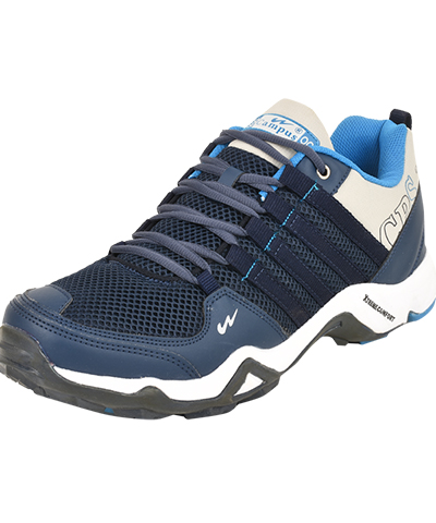 Campus Mens Sports Shoe Triggeer 3G-431 Navy Grey