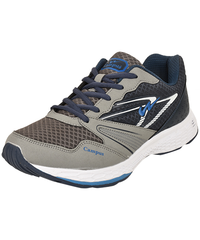 Campus Mens Sports Shoe Volt 3G-8257 Navy Grey