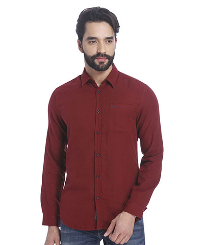 Devil Mens Casual Shirt DMCS-04