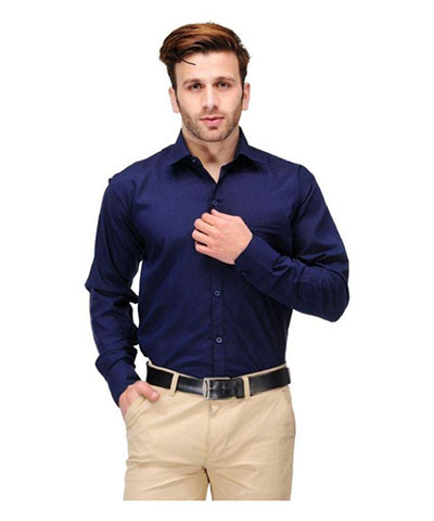 Devil Mens Casual Shirt DMCS-05