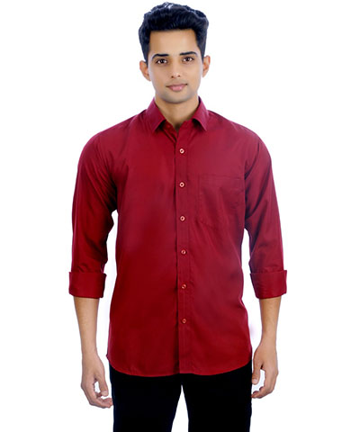 Devil Mens Casual Shirt DMCS-08