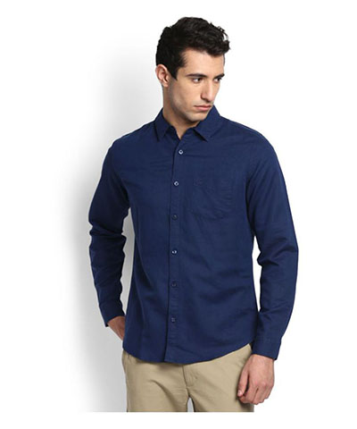 Devil Mens Casual Shirt DMCS-09