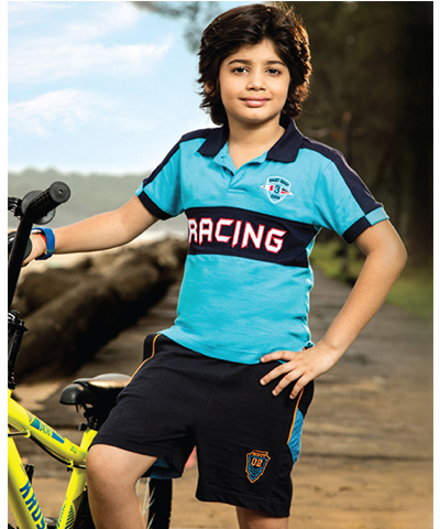Dixcy Scott Kids Boys Raze Assorted Polo Tee