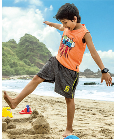 Dixcy Scott Kids Boys Skater Assorted Shorts