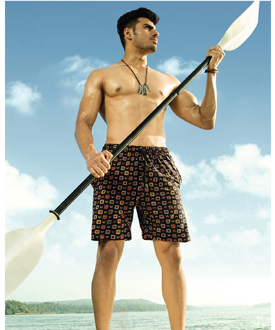 Dixcy Scott Mens Sure Shorts Printed