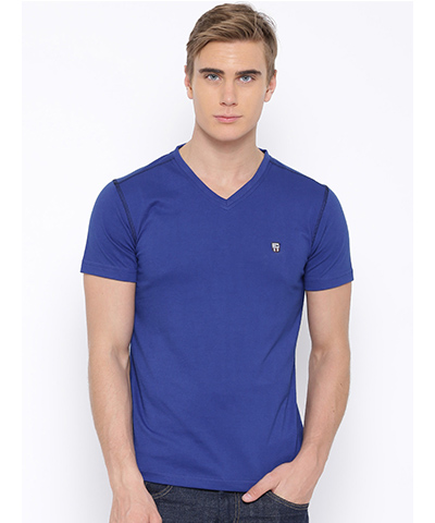 Duke Mens T-Shirt Blue Color 4646-Marine